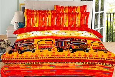 Natures Made bedsheet by Akshay Cotton Mills